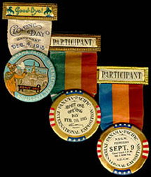 [Charles Moore's souvenir memorial certificate from the Exposition, 1915]