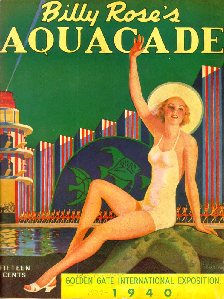 Cover: Billy Rose's Aquacade, [San Francisco, 1940]