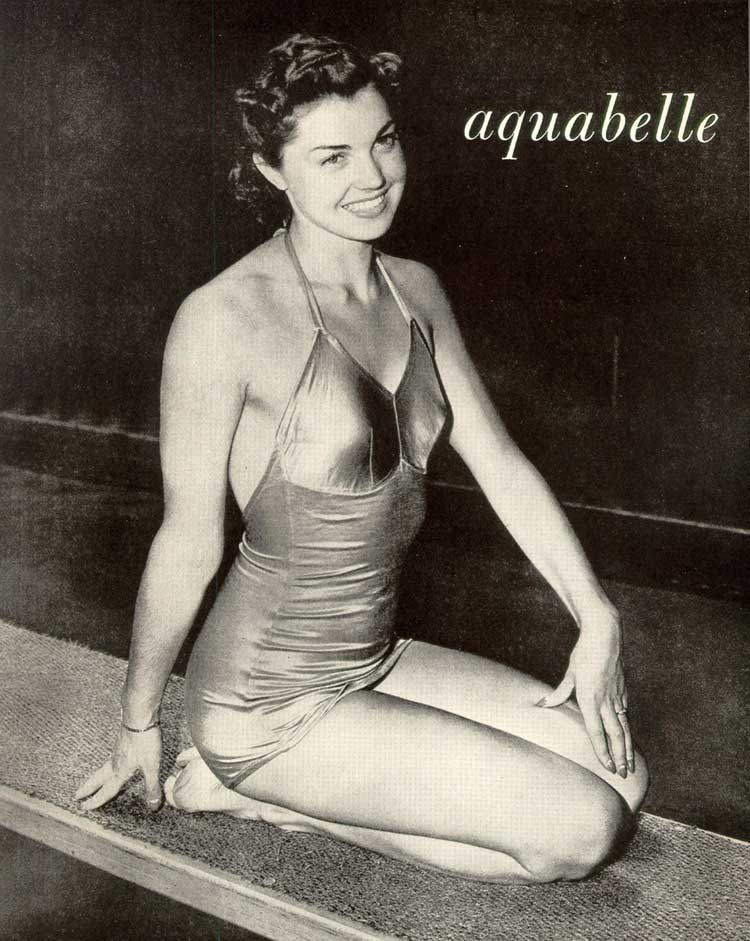 [Esther Williams, Aquabelle, Billy Rose's Aquacade, [San Francisco, 1940]