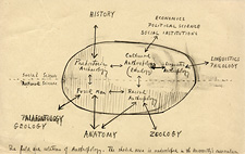 Alfred Louis Kroeber: The field and relations of Anthropology [Sketch]