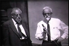 Video of Samuel Barrett interviewing Alfred Kroeber