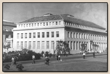 Doe Library Annex.  Photograph, late 1950s.