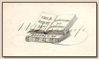 H.H. Bancroft's Business Card.