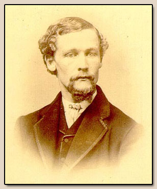 Henry L. Oak.  Photograph, ca. 1870.