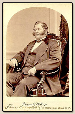 General Mariano Guadalupe Vallejo.  Photograph, n.d.
