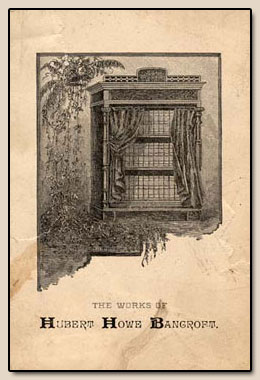 Bancroft�s Works.  Drawing, n.d.