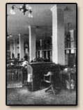 BUILDING THE BANCROFT: Photograph of Reading Room, 1911