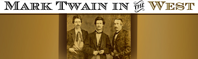 Mark Twain in the West
