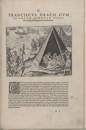 COLLECTION PEREGRINATIONUM IN INDIAM ORIENTALEM ET INDIAM OCCIDENTALEM..., Theodor De Bry