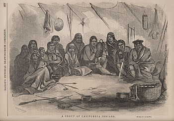 A Group of California Indians