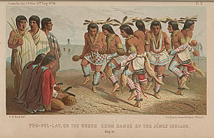 You-Pel-Lay, or the Green Corn Dance of the Jemez Indians, R. H. Kern