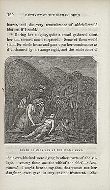 Death of Mary Ann at the Indian Camp