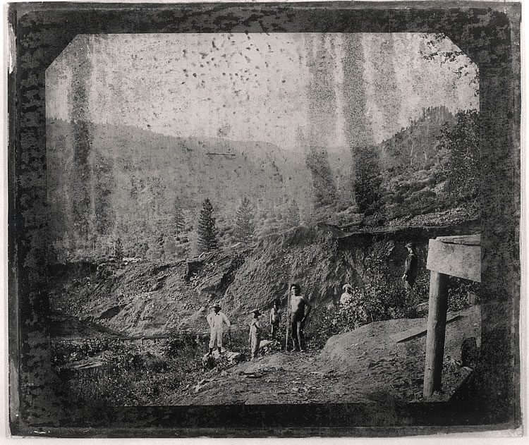 Mining Scene, Photographer unknown