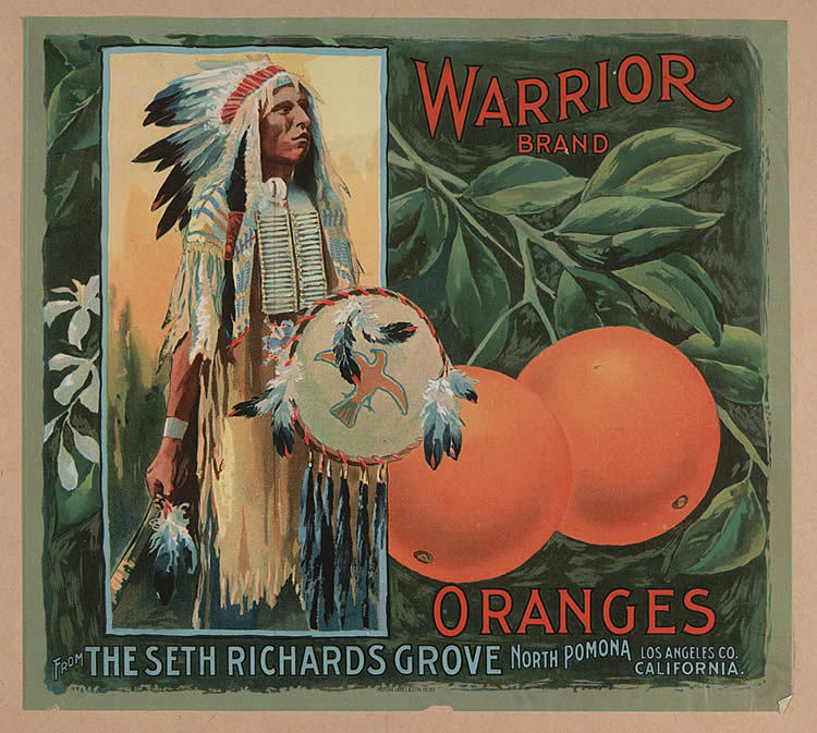 Advertisement, Warrior brand oranges