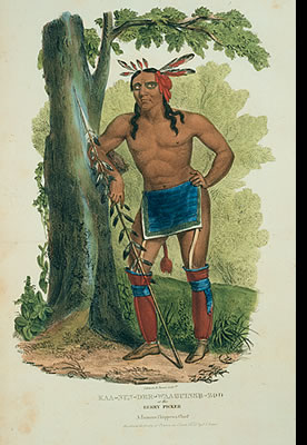 Kaa Nun Der Waaguinse Zoo, The Berry Picker, A Famous Chippewa Chief