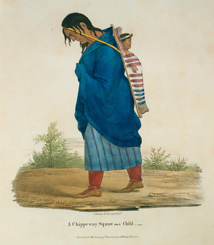 A Chippeway Squaw and Child