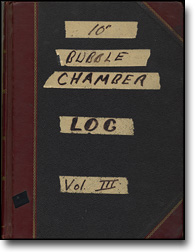 "10"" Bubble Chamber Log Vol. III"