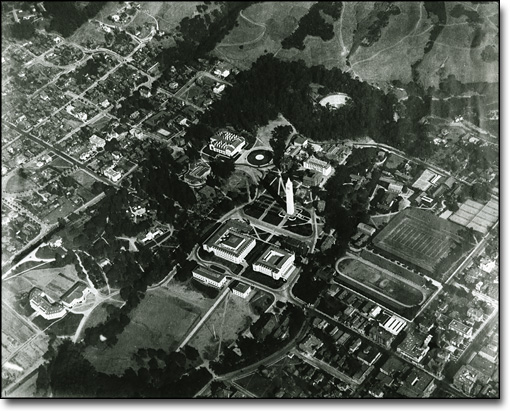 Aerial View of the Campus, 1919