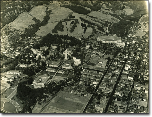 Aerial View of the Campus, 1931