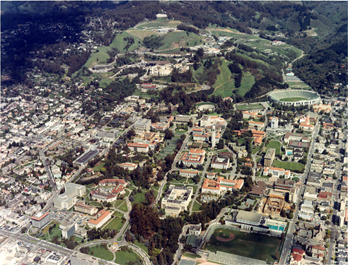 Aerial View of Campus, 1967