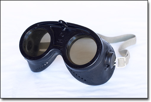 Single Axis Rotatable Goggles