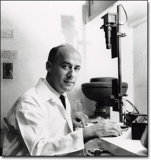John Gofman at Donner Lab, Berkeley, ca. 1950
