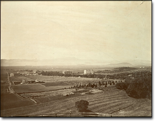 Campus View by Carleton Watkins, 1874