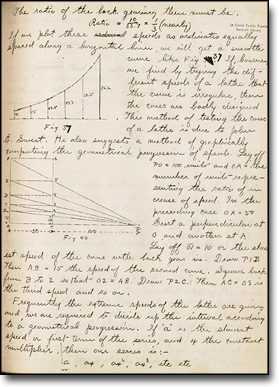 Advanced Laboratory Notebook, Joseph N. LeConte, ca. 1890