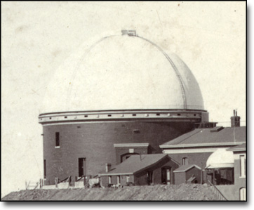 Main Dome at Lick Observatory, Mt. Hamilton, By Edwin R. Jackson, 1891