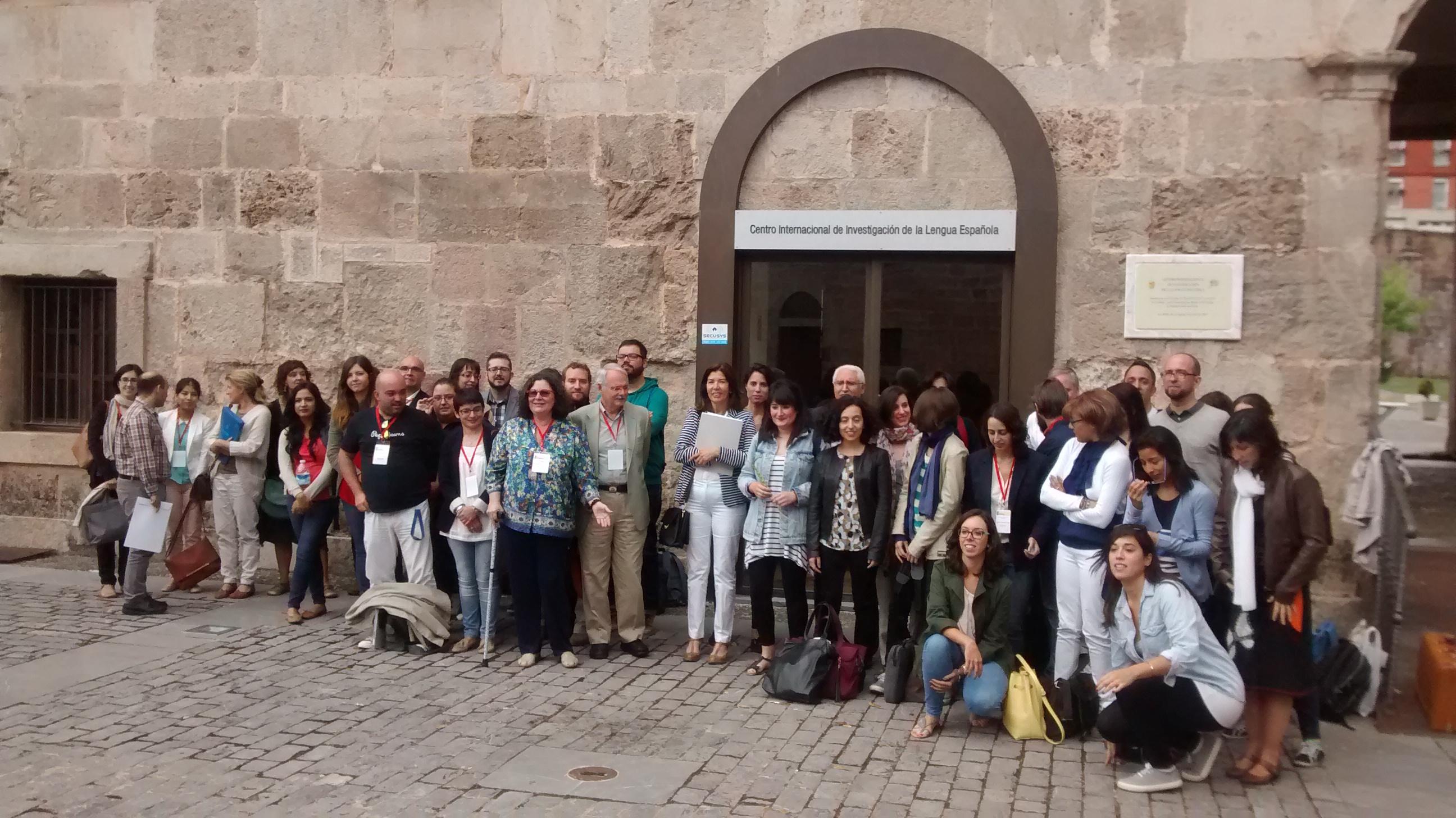 Miembros del Seminario ante Cilengua